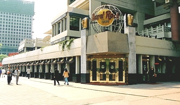 Hard Rock Cafe Shanghai Exterior